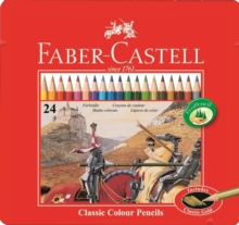 FABER CASTELL COLOURING PENCILS TIN OF 2,  Book