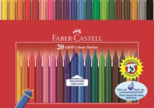 FABER CASTELL GRIP FIBRE PENS OF 20,  Book