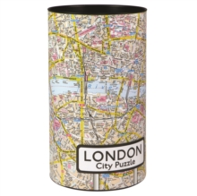 LONDON CITY PUZZLE 500 PIECES,  Book