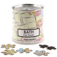 BATH CITY PUZZLE MAGNETIC 100 PIECES,  Book