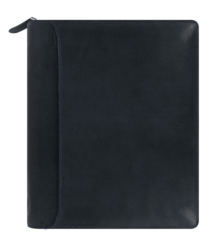 FILOFAX A5 LOCKWOOD ZIP ORGANISER NAVY,  Book