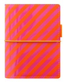 FILOFAX DOMINO PATENT POCKET ORANGEPINK,  Book