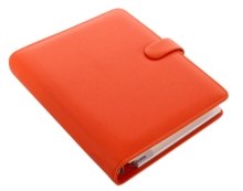 FILOFAX SAFFIANO A5 BRIGHT ORANGE,  Book