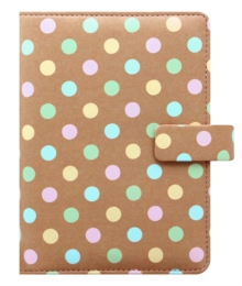 FILOFAX PATTERNS PERSONAL PASTEL SPOTS,  Book