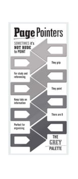 Page Pointers Page Markers- Grey, General merchandize Book