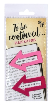 To Be Continued... Place Keepers - Pinks, General merchandize Book
