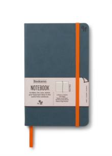 Bookaroo Notebook  - Teal, Notebook / blank book Book