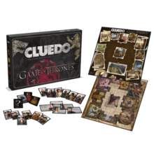 Game Of Thrones Cluedo Board Game, Paperback Book