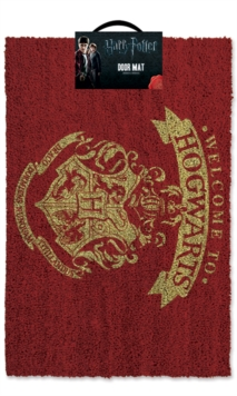 Welcome To Hogwarts Door Mat, Paperback Book