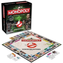 Ghostbusters Monopoly Board Game, Paperback Book