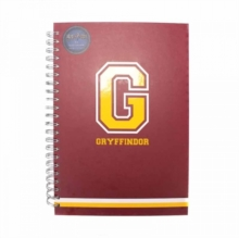 G For Gryffindor Notebook, Paperback Book