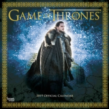 GAME OF THRONES 2019 SQUARE WALL CALENDA, Paperback Book