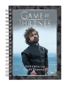 GAME OF THRONES 2019 DIARY PLANNER, Spiral bound Book