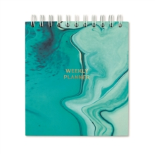 AQUA MARINESQUARE WEEKLY PLANNER,  Book