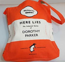 HERE LIES - DOROTHY PARKER BOOK BAG,  Book