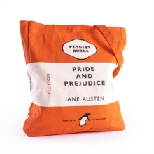 PRIDE AND PREJUDICE BOOK BAG ORANGE,  Book