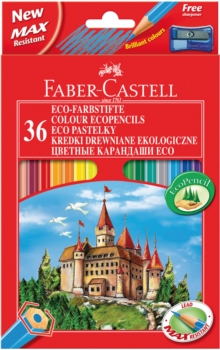 FABER CASTELL COLOURING PENCILS OF 36,  Book