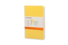 Moleskine Pocket Volant Sunflower Yellow/brass Yellow Ruled Journal, Paperback Book