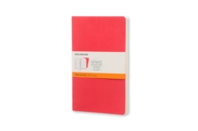 Moleskine Large Volant Geranium Red/scarlet Red Ruled Journal, Paperback Book