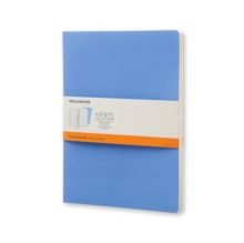MOLESKINE EXTRA LARGE VOLANT POWDER BLUE, Notebook / blank book Book