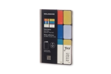Moleskine Pocket Full Colour Stick Notes, Paperback Book