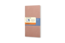 Moleskine Chapters Journal Old Rose Slim Pocket Ruled, Paperback Book