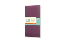 MOLESKINE CHAPTERS JOURNAL PLUM PURPLE S, Notebook / blank book Book