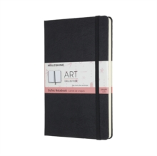 ART BULLET NOTEBOOK LARGE BLACK, Hardback Book