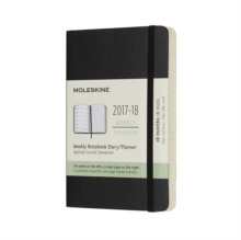 2018 MOLESKINE POCKET WEEKLY NOTEBOOK DI, Paperback Book