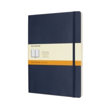 Moleskine Sapphire Blue Extra Large Ruled Notebook Soft, Paperback Book