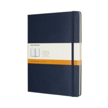 Moleskine Sapphire Blue Extra Large Ruled Notebook Hard, Paperback Book