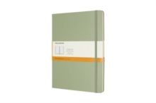 Moleskine Willow Green Extra Large Ruled Notebook Hard, Paperback Book