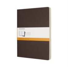 MOLESKINE COFFEE BROWN EXTRA LARGE RULED, Paperback Book