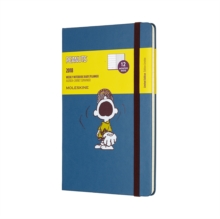 2018 Moleskine Peanuts Limited Edition Sapphire Blue Large Weekly Notebook Diary 12 Months Hard, Paperback Book