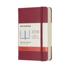 2018 MOLESKINE BERRY ROSE POCKET DAILY D, Notebook / blank book Book