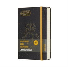 2018 Moleskine Star Wars Limited Edition Bb-8 Pocket Daily Diary 12 Months Hard, Paperback Book