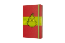 DR SEUSS GRINCH RULED RED NOTEBOOK, Notebook / blank book Book
