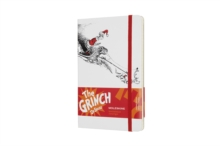 DR SEUSS GRINCH RULED WHITE NOTEBOOK, Notebook / blank book Book