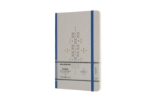 Moleskine Time Notebook Limited Collection Blue Large Plain Notebook Hard, Paperback Book
