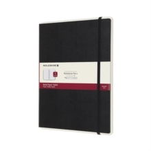 Moleskine Smart Writing Paper Tablet Black Xl Ruled Hard, Paperback Book