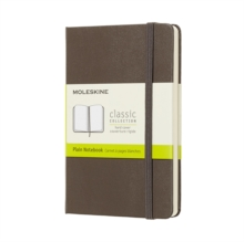 Moleskine Earth Brown Notebook Pocket Plain Hard, Paperback Book