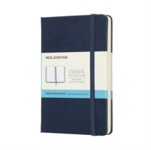 Moleskine Sapphire Blue Notebook Pocket Dotted Hard, Paperback Book
