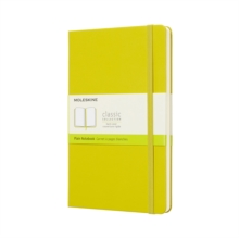Moleskine Dandelion Yellow Notebook Large Plain Hard, Paperback Book