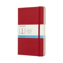 Moleskine Scarlet Red Notebook Large Dotted Hard, Paperback Book