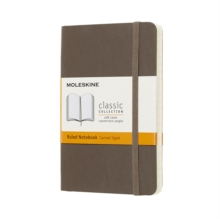 Moleskine Earth Brown Notebook Pocket Ruled Soft, Paperback Book