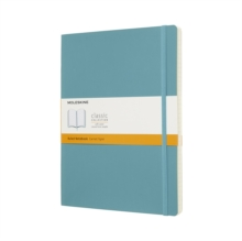 Moleskine Reef Blue Notebook Extra Large Ruled Soft, Paperback Book