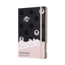 Moleskine Barbie Dots Limited Edition Notebook Large Ruled, Paperback Book