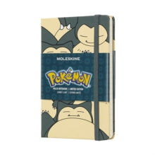Moleskine Pokemon Snorlax Limited Edition Notebook Pocket Ruled, Paperback Book