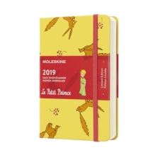 2019 Moleskine Petit Prince Limited Edition Notebook Yellow Pocket Daily 12-month Diary, Paperback Book