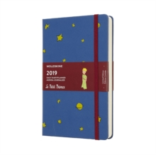 2019 Moleskine Petit Prince Limited Edition Notebook Blue Large Daily 12-month Diary, Paperback Book
